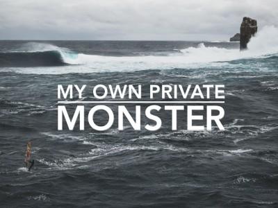 MY OWN PRIVATE MONSTER • WINDSURFING TASMANIA'S PEDRA BRANCA