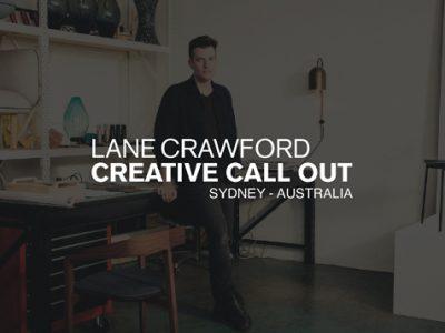 Lane Crawford – Creative Callout