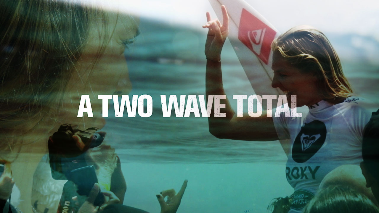 A TWO WAVE TOTAL