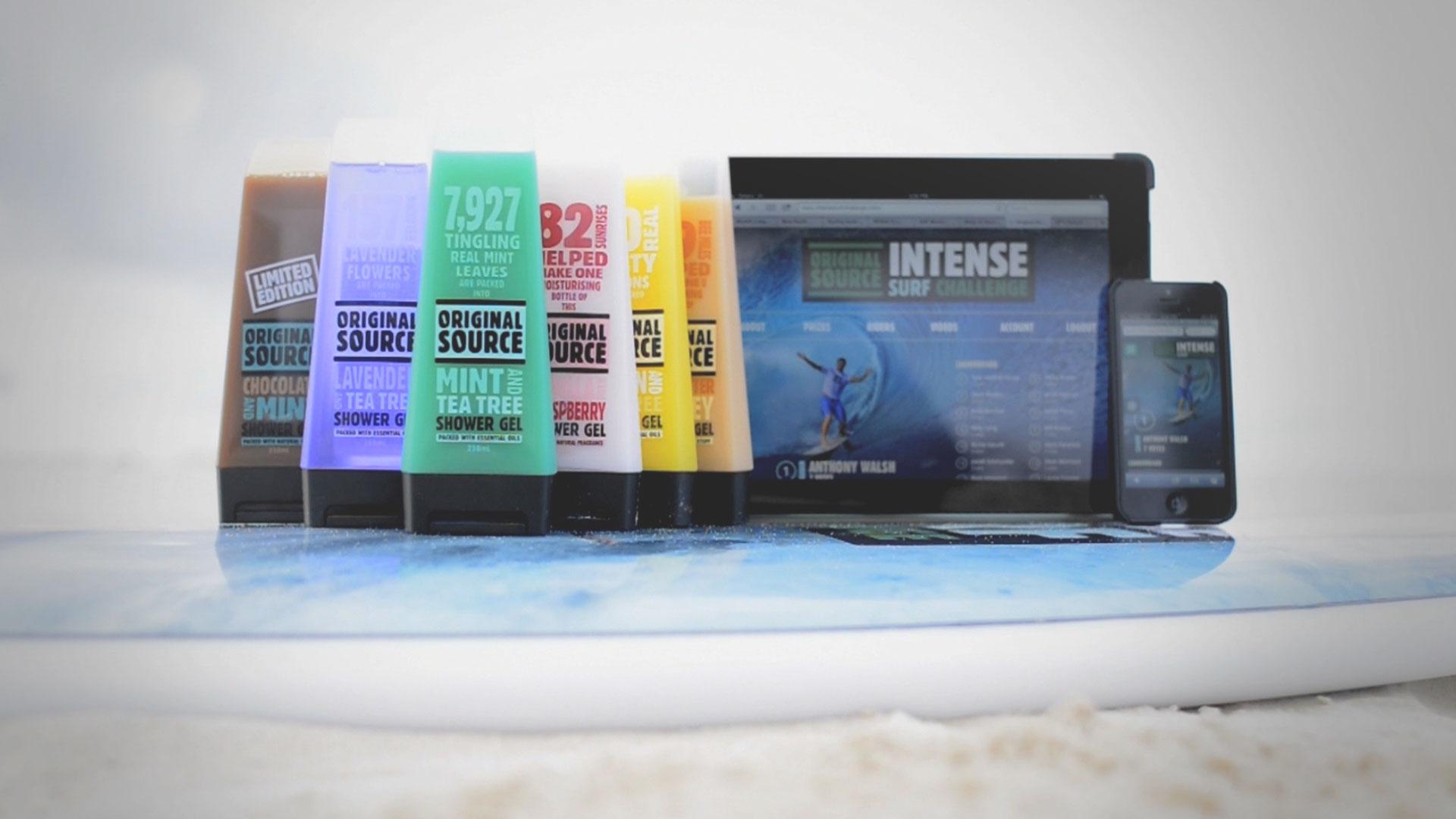 ORIGINAL SOURCE INTENSE SURF CHALLENGE
